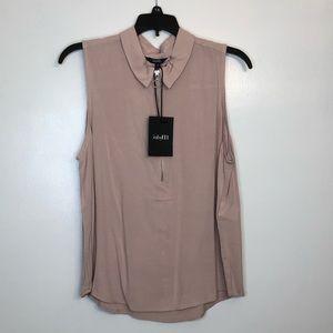 ASOS pink dress top blouse